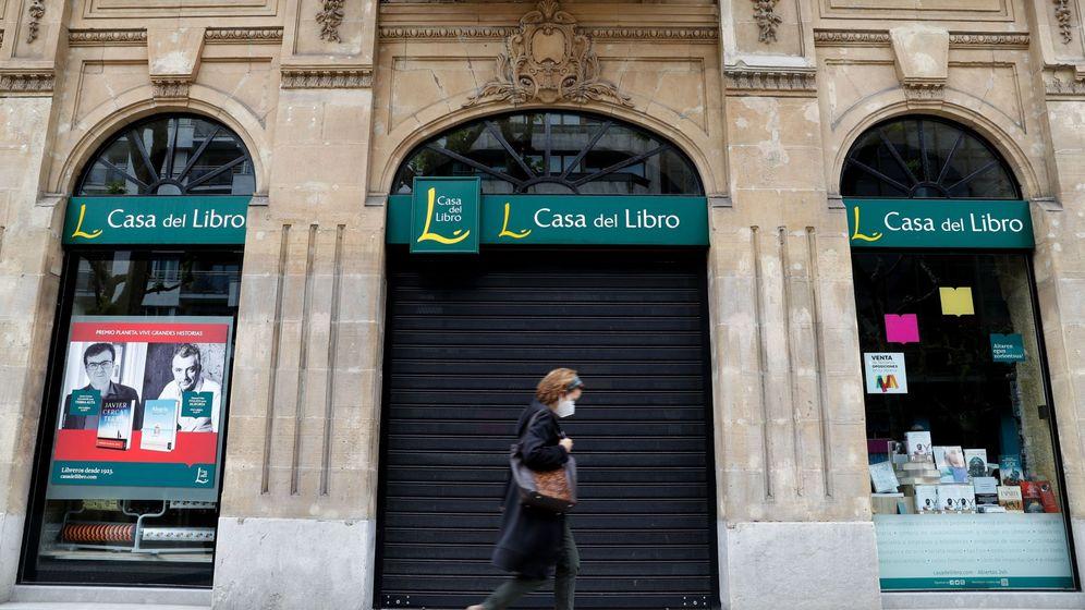 Foto: Las librerías están cerradas desde el pasado 14 de marzo (EFE)