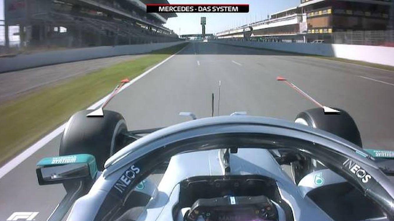 Foto: Los rivales de Mercedes quedaron sorprendidos y descolorados cuando descubrieron el sistema DAS en el monoplaza de Hamilton. (Mercedes AMG F1)