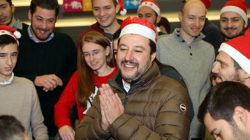 Salvini aplaude el cierre de fronteras: Las políticas fascistas salvan vidas