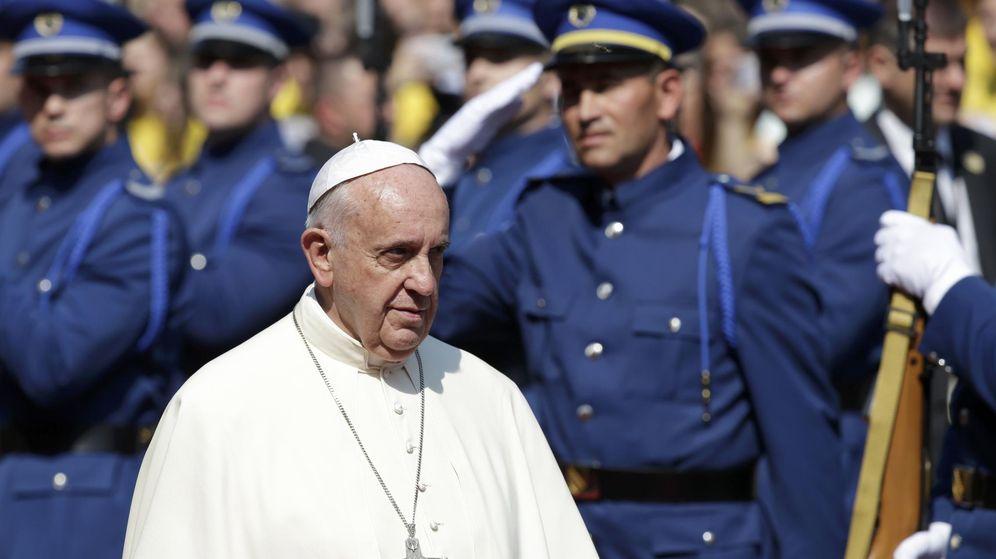 Foto: El papa Francisco durante su visita a Sarajevo. (Reuters)