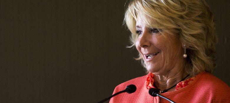 Foto: La presidenta del PP de Madrid, Esperanza Aguirre. (EFE)