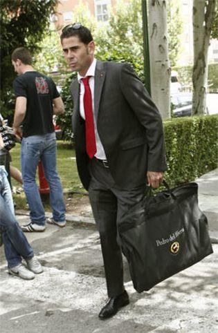 Foto: Hierro ya sabe que Villar le quiere renovar