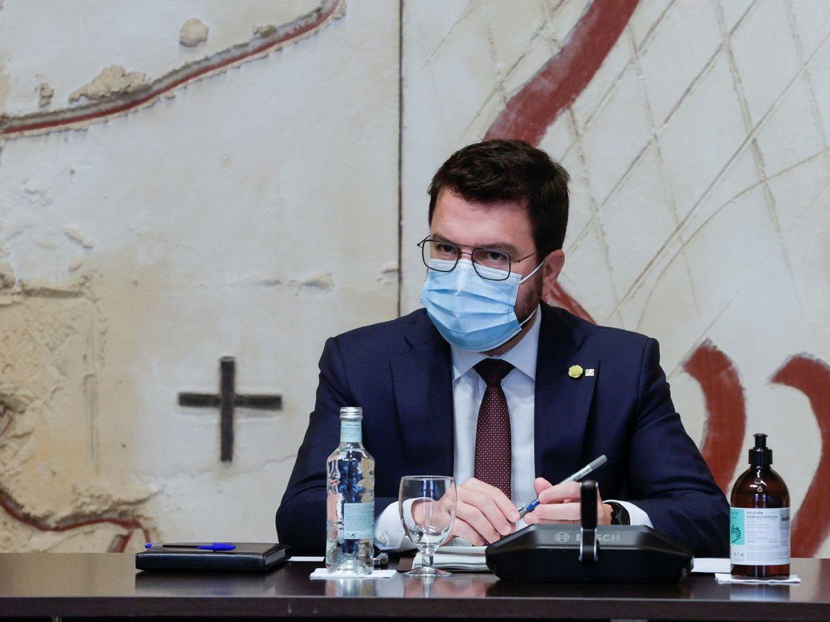 Foto: El 'president', Pere Aragonés. (EFE)
