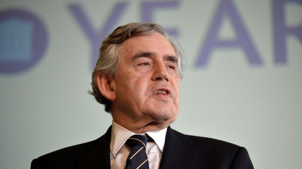 Foto: El ex primer ministro británico Gordon Brown. (Reuters)