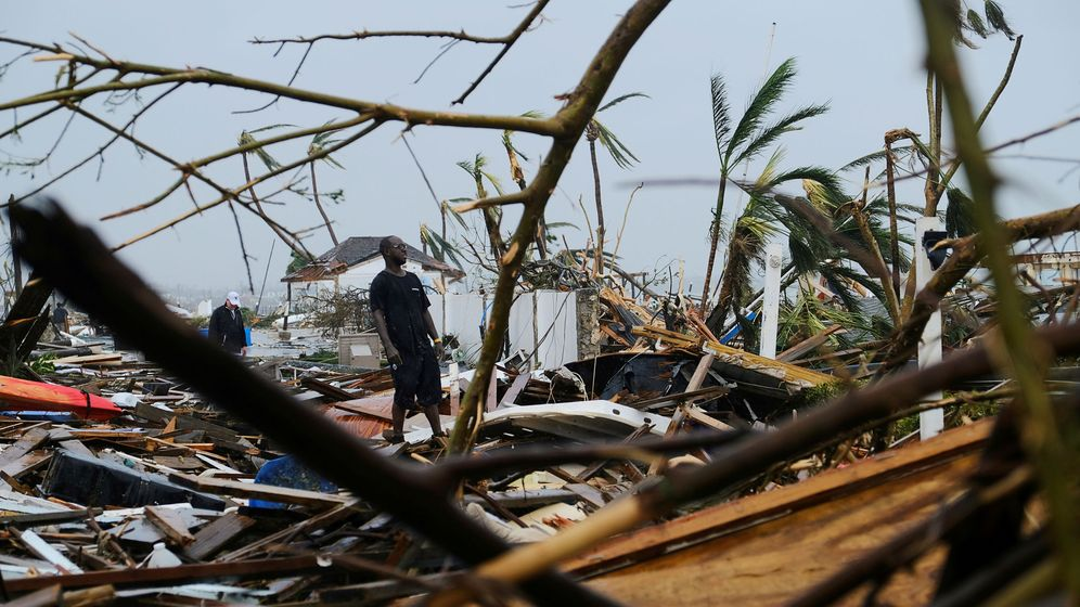 Foto: Damage in the aftermath of hurricane dorian in marsh harbour