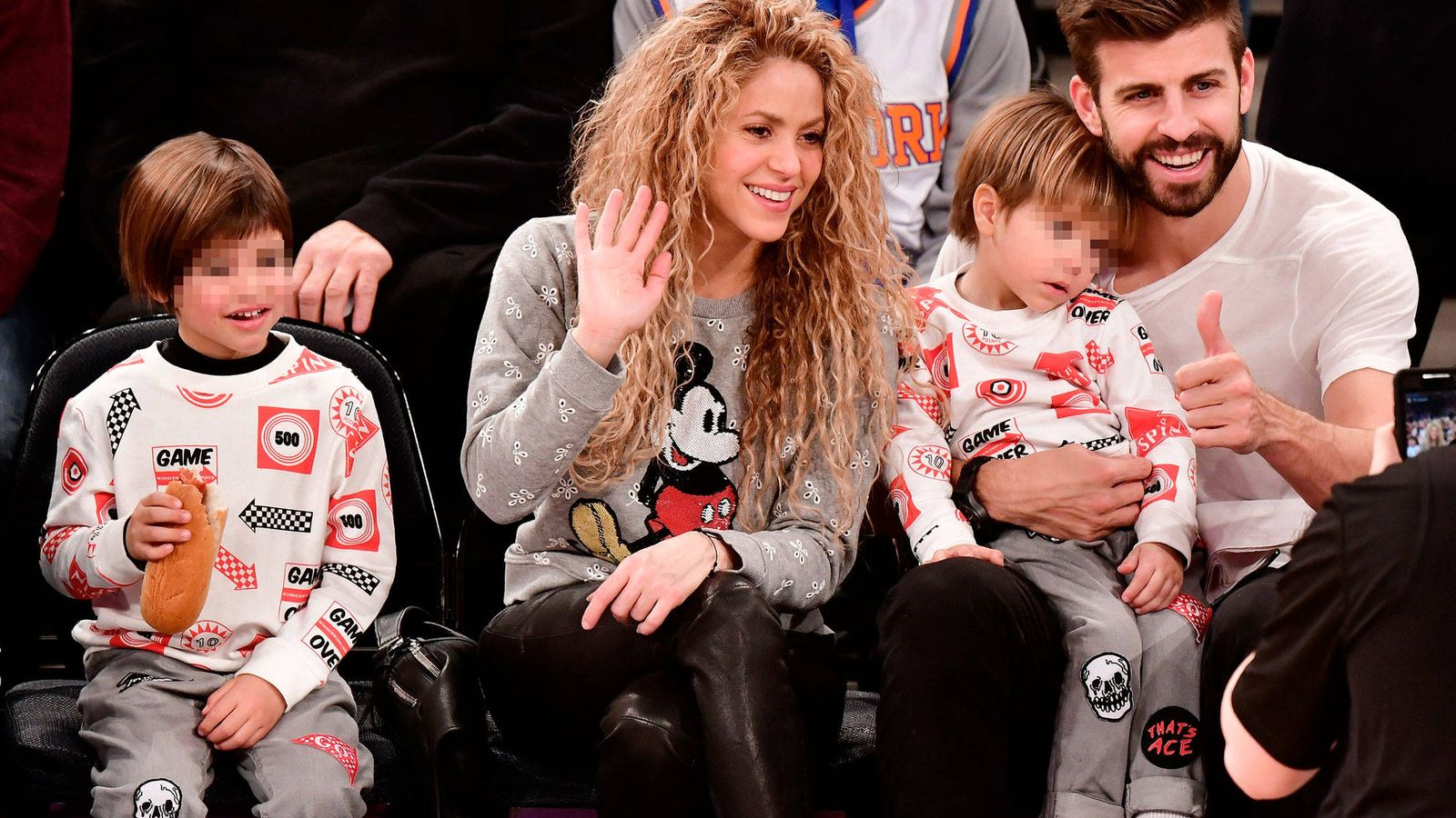Foto: Shakira y Piqué. (Getty)