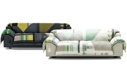'Vlinder': Hella Jongerius viste de 'jacquard' el nuevo sofá de Vitra