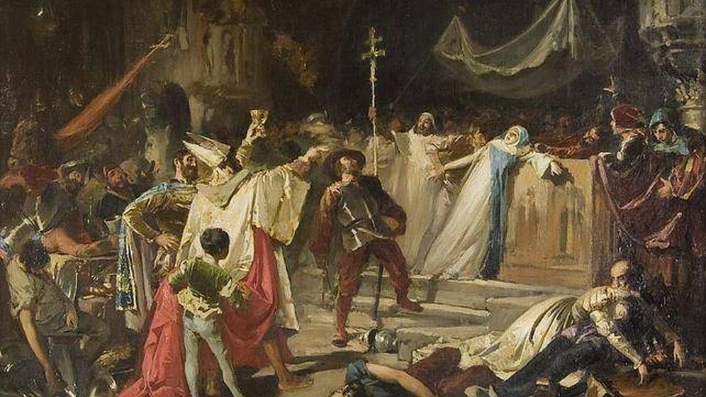 Foto: Pintura de el 'Saco de Roma', por Francisco Javier Amérigo Aparicio (1888)