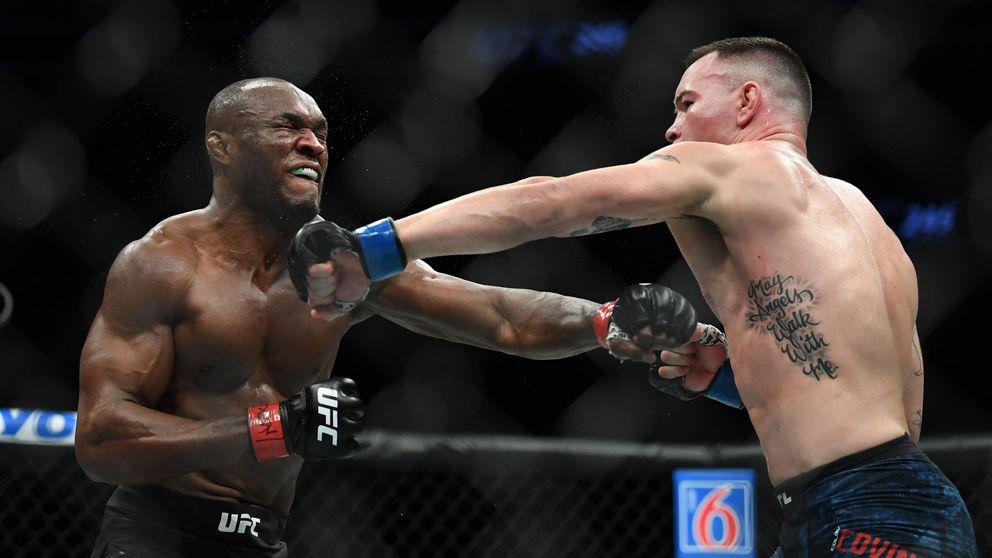 UFC 245: el KO brutal de Kamaru Usman al luchador predilecto de Donald Trump