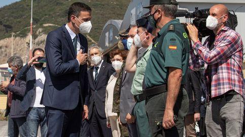 Sánchez llega a Ceuta y pide a Marruecos respeto a las fronteras mutuas
