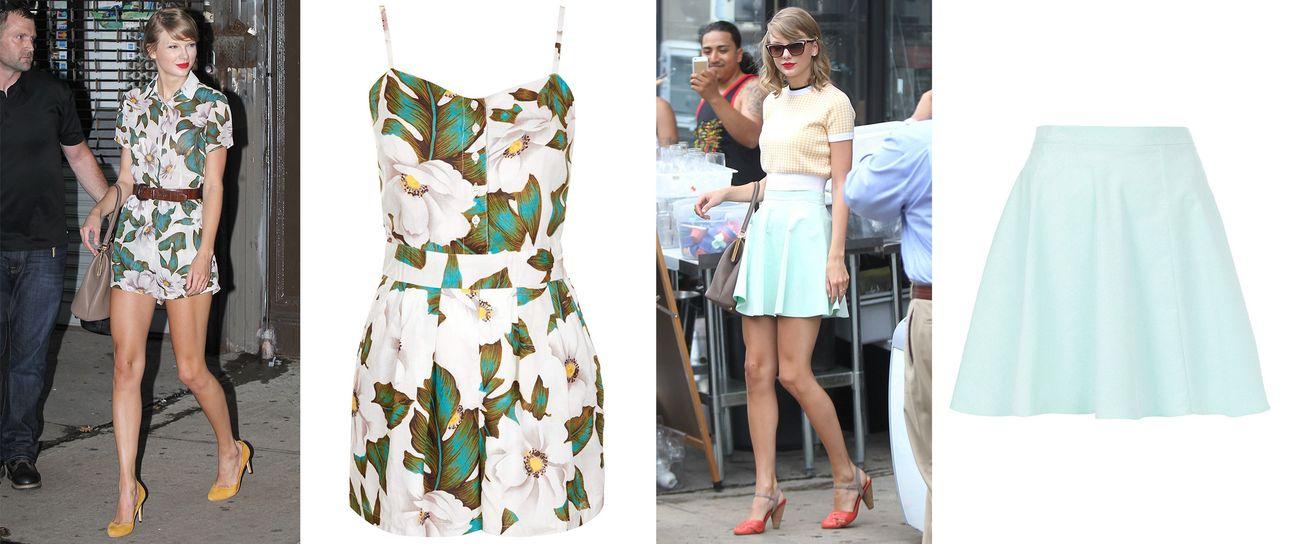 Foto: La semana Topshop de Taylor Swift