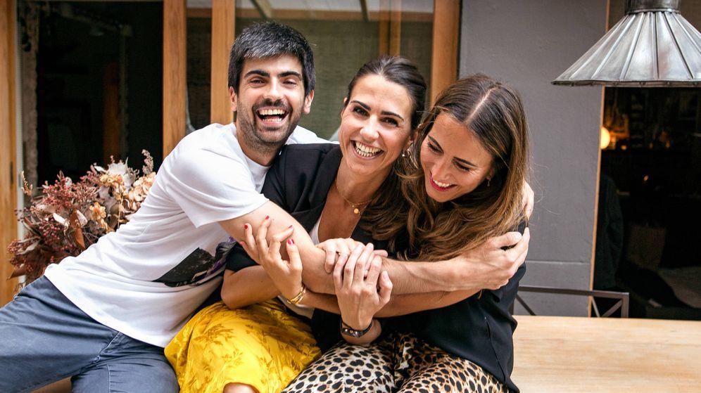 Foto: Marc, Sole y María, dueños de Lonbali. (Cortesía de la firma)