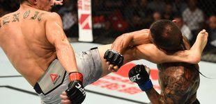 Post de El demoledor KO de una patada que aupó a Benoit como el rey de la UFC 121