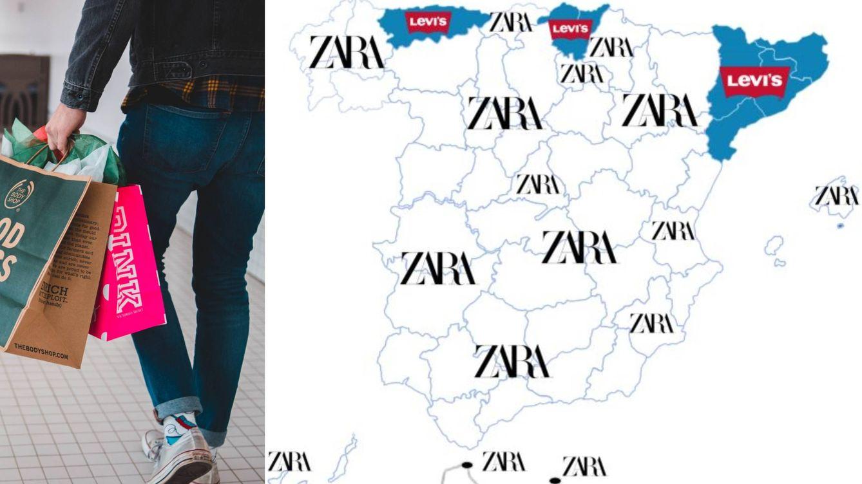 Mercadona, Zara, Netflix y Nike: las marcas preferidas por los españoles, por CCAA