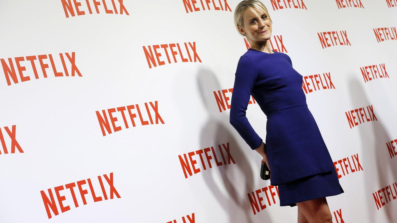Foto: La actriz Taylor Schilling, protagonista de la serie de producción propia de Netflix 'Orange is the new black'. (Foto: Reuters)