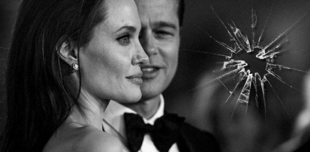 Foto: Brad Pitt y Angelina Jolie en un fotomontaje realizado en Vanitatis.