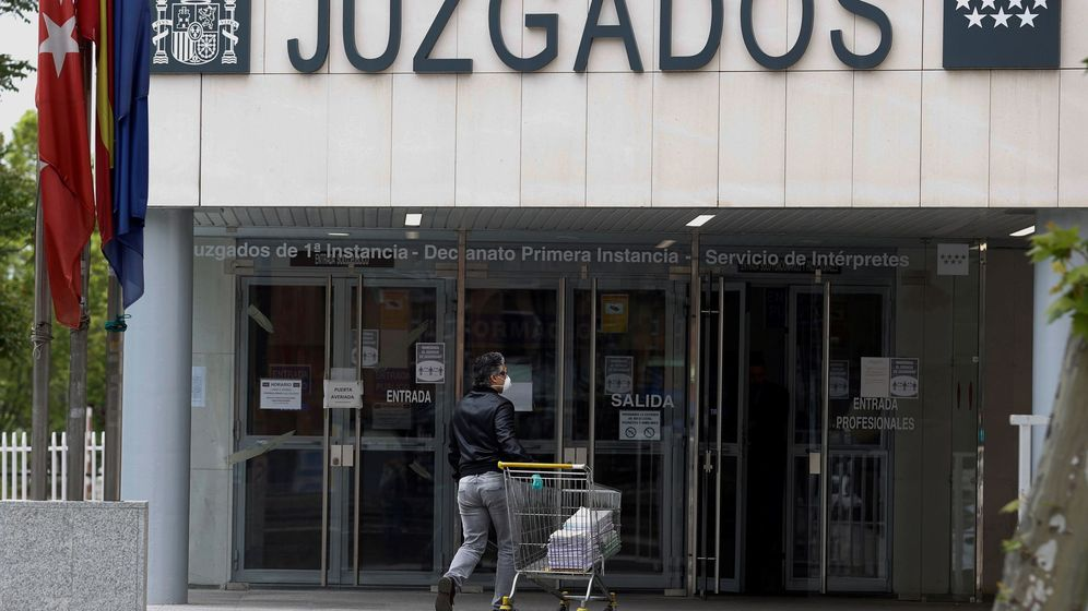 Foto: Juzgado de plaza de Castilla. (EFE)