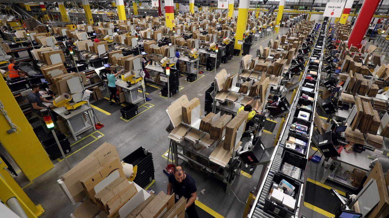 Centro de Amazon en Barcelona. (Reuters)