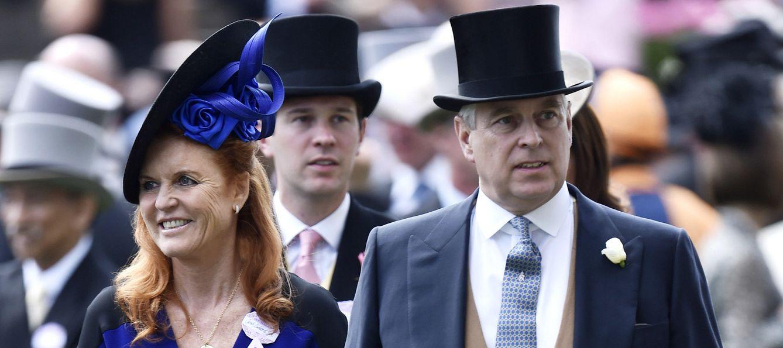 Foto: Sarah Ferguson junto a su exmarido el príncipe Andrés en Royal Ascot (Reuters)