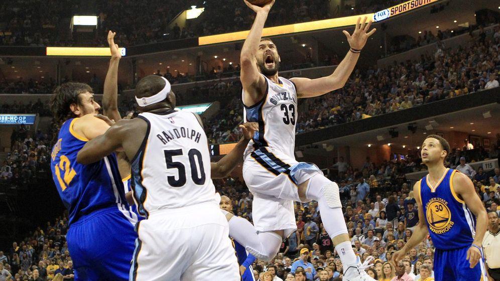 Foto: Un doble-doble de Marc Gasol tumba al MVP de la NBA y da ventaja a Memphis