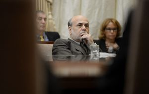 Una cena con Ben Bernanke no muy tranquilizadora
