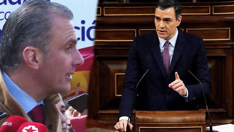 La pillada de Antena 3 a Ortega Smith durante la sesión de investidura