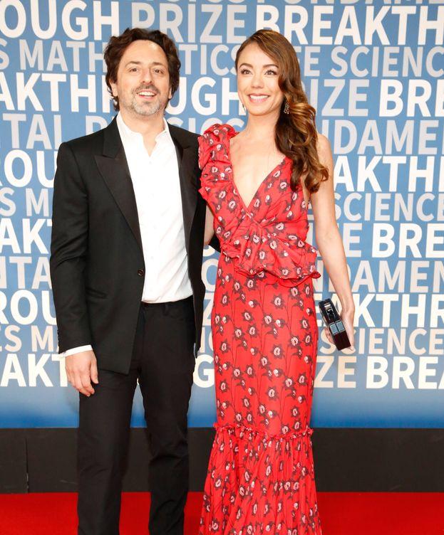 Foto: Sergey Brin, con su mujer, Nicole Shanahan, en una imagen de archivo. (Getty)