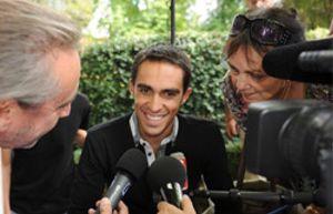 """Contador: """"Quiero ganar Tour, Giro y Vuelta en el mismo año"""""""