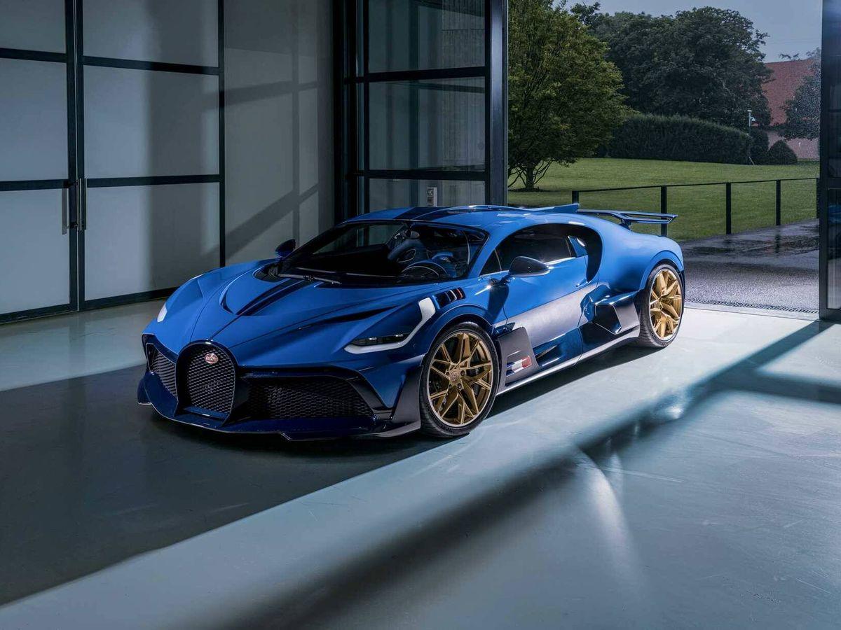 Foto: Con este Bugatti Divo en color azul se cierra la producción de un modelo que pasará a la historia.