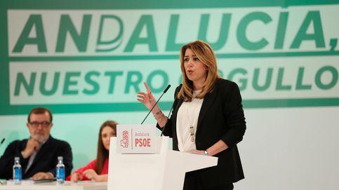 """Susana Díaz avisa de que el PSOE """"no se puede relajar"""" ante la fuga de votos a Cs"""