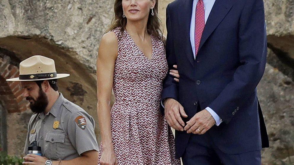 Letizia estrena en Texas un vestido sencillo y perfecto para el verano