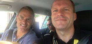 Post de Encuentran vivo, pero inconsciente, al director del equipo ciclista Trek en Girona