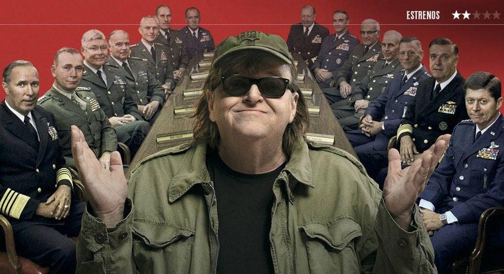 Foto: Michael Moore estrena su nueva película '¿Qué invadimos ahora?'
