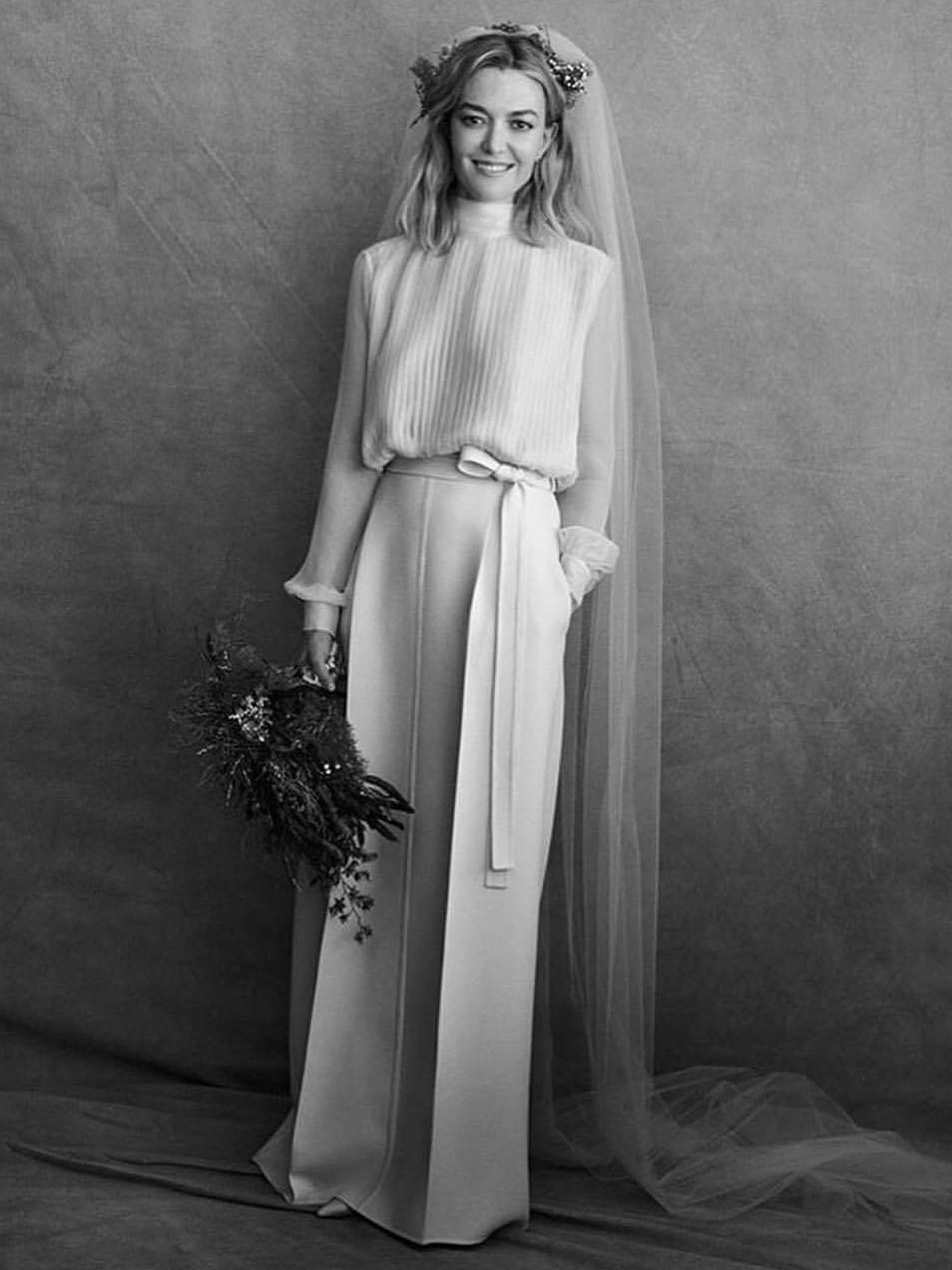 El vestido de novia de Marta Ortega. (Archivo)