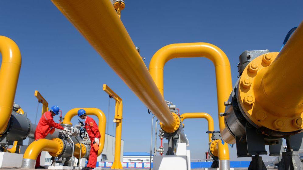 Foto: Infraestructuras gasistas. (Reuters)