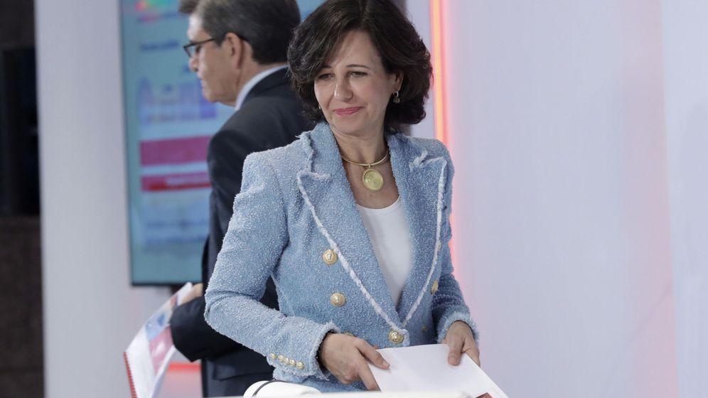 Foto: La presidenta del Banco Santander, Ana Botín, y el CEO, José Antonio Álvarez. (EFE)