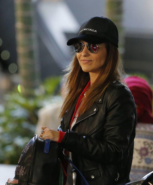 Foto:  Paula, en el aeropuerto de Los Ángeles. (Gtres)