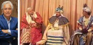 """Post de """"Soy Chiquetete"""": el cantante la lía al quitarse el disfraz de rey mago"""