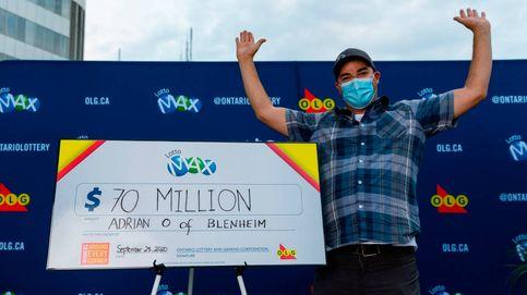 Gana 45 millones a la lotería, se encierra en su furgoneta y comienza a llorar