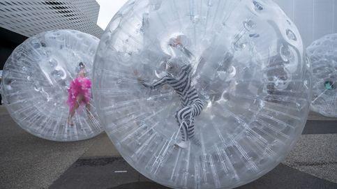 Art Basel 2021 y flamencos en el humedal de Nea Kios: el día en fotos