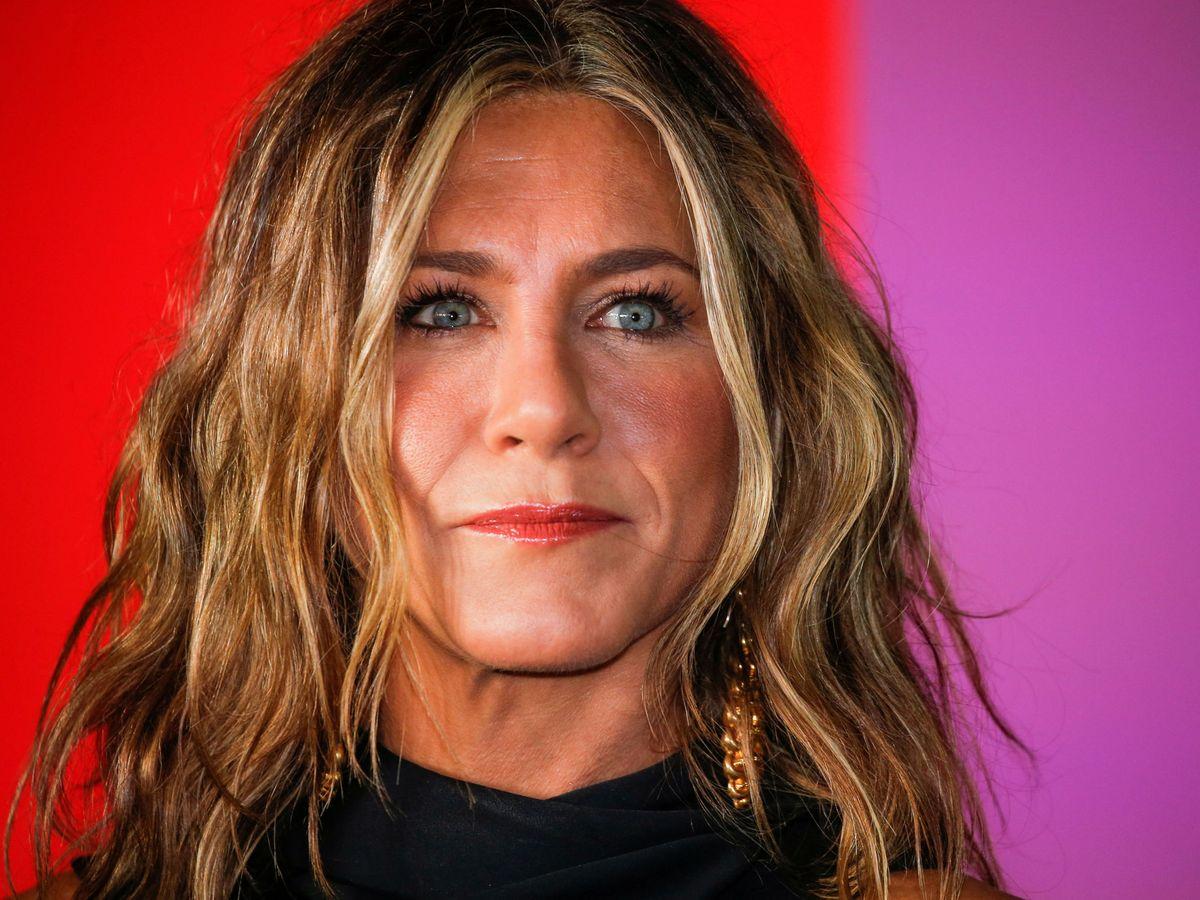 Foto: Jennifer Aniston, en el estreno de 'The Morning Show' (Reuters)