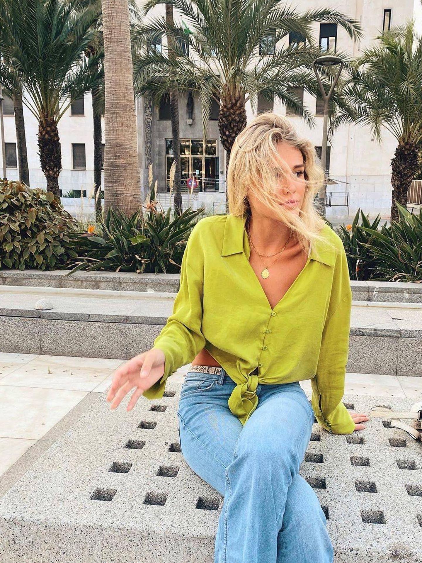 Ana Soria en sus redes sociales. (Instagram @anasoria.7)