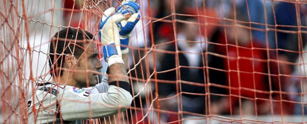 "Foto: Palop: ""¿Ronaldo? Negredo también le pega muy fuerte a la pelota"""