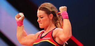 Post de Lydia Valentín se cuelga la medalla de plata en el Mundial en la categoría de 81 kg