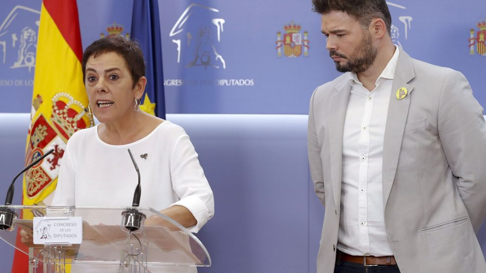 El independentismo se divide en la investidura: ERC se abstiene y JxCat vota no
