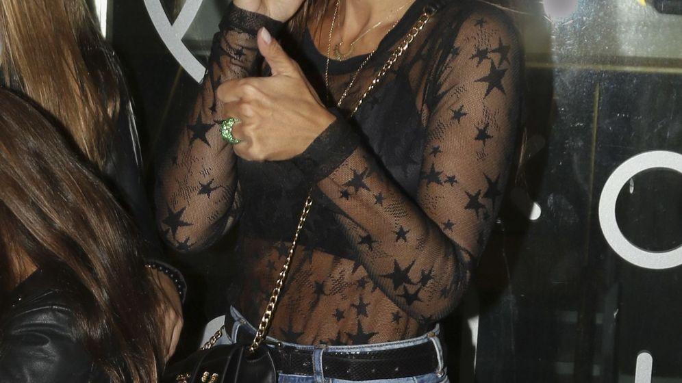 Foto: Paula Echevarría, en el concierto de Maluma. (Cordon Press)