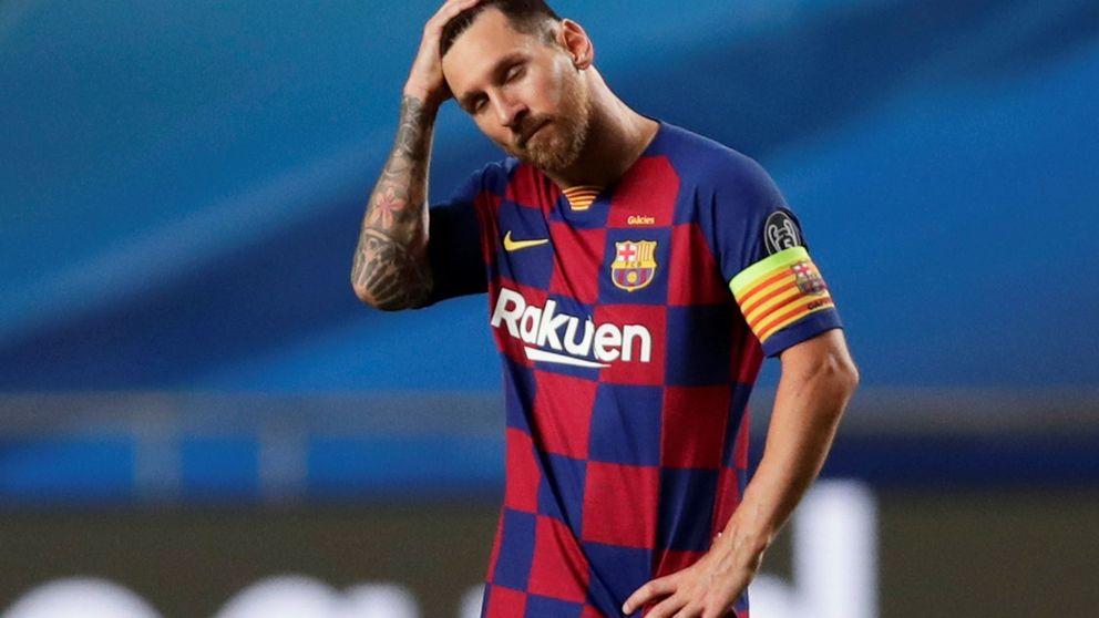 Por qué Messi no es un digno capitán del Barcelona y nunca asume sus errores