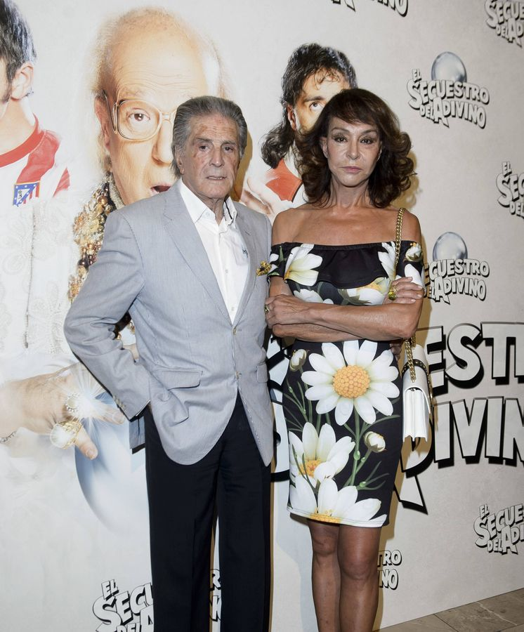 Foto: El torero Jaime Ostos y su mujer, María Ángeles Grajal