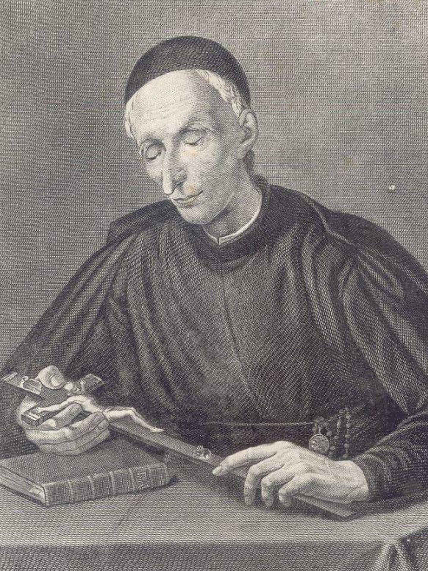 Retrato de San José de Pignatelli, restaurador de la Compañía de Jesús. (C.C.)