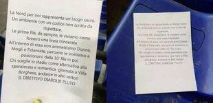 Post de Los ultras de la Lazio, de antisemitas a machistas: